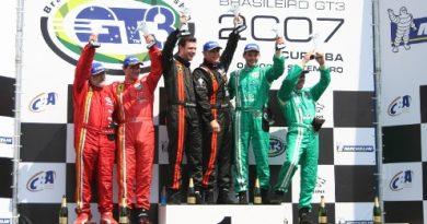 GT3 Brasil: Lamborghini Gallardo vence e confirma favoritismo na 3ª Etapa em Curitiba