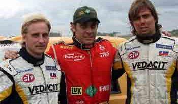 Stock: Pedro Gomes recebe campeões de Rally em Interlagos