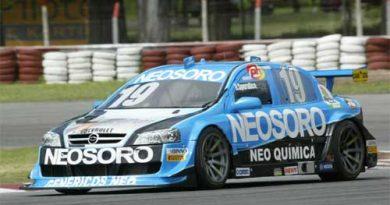 Stock: Sperafico larga em segundo em Buenos Aires