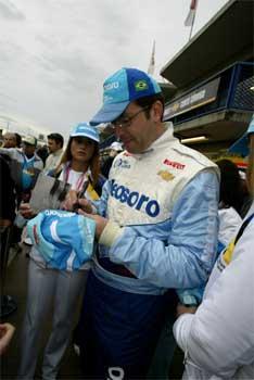 Stock: Campeão de 2003, David Muffato não corre em 2006