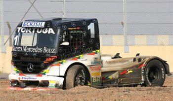 Truck: Motor do caminhão de Cirino explode a 200 Km/h