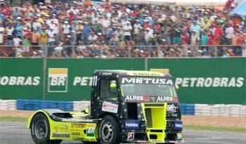 Truck: Diumar Bueno com novo caminhão na abertura da categoria