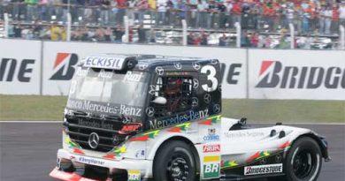 Truck: Geraldo Piquet e Wellington Cirino foram os destaques na prova em Cascavel