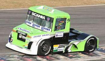 Truck: José Maria, mesmo com troca de eixo, conseguiu classificar o caminhão