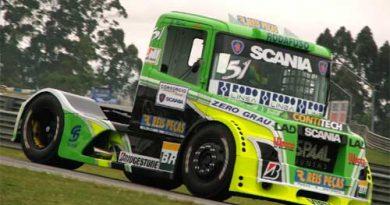 Truck: Com câmbio quebrado, Zé Maria volta aos pontos