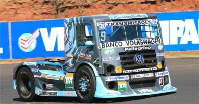 Truck: Líder da Truck, Renato Martins inicia treinos na frente