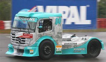 Truck: Com cautela após acidente, Ramires larga da nona fila visando pontuar