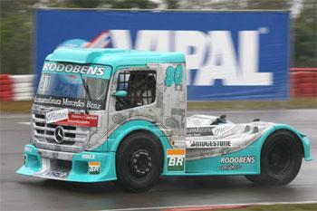 Truck: Vinícius Ramires treina em Curitiba na preparação para quinta etapa