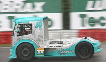 Truck: Depois de acidente, Ramires comemora a manutenção do sexto lugar