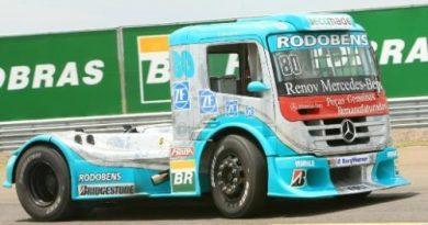 Truck: Mercedes-Benz coloca três pilotos entre os seis primeiros no grid em Campo Grande