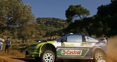 WRC: Marcus Grönholm vence o Rali de Acrópolis