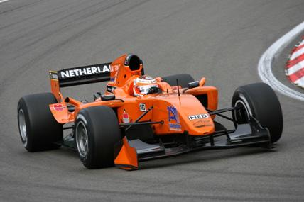 A1GP: Time holandês marca pole position em casa