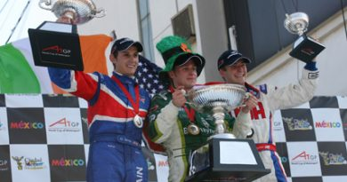 A1GP: Irlanda vence a Feature Race no México