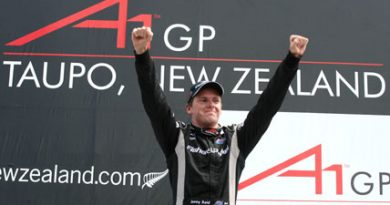 A1GP: Nova Zelândia vence a Sprint Race no México
