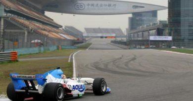 A1GP: Suíça marca a pole-position para as duas provas em Shangai