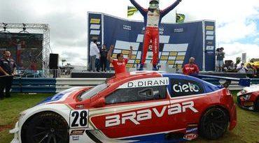 Brasileiro de Turismo: Danilo Dirani vence corrida 2 em Goiânia