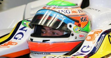 F1: Nelsinho Piquet larga na sexta fila em Interlagos