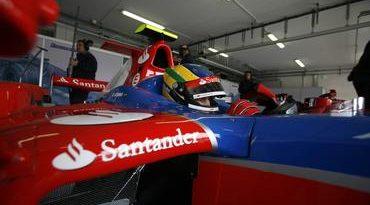 GP2 Series: Bruno Senna é 7º no primeiro dia na França