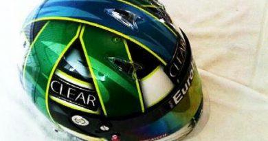 F1: Lucas Di Grassi divulga nova pintura do capacete no Twitter