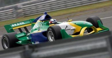 A1GP: Brasil fica em sexto no último teste coletivo antes da estréia