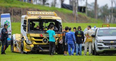 Copa Truck: Fraturas ameaçam participação de André Marques na Copa Sudeste em Interlagos