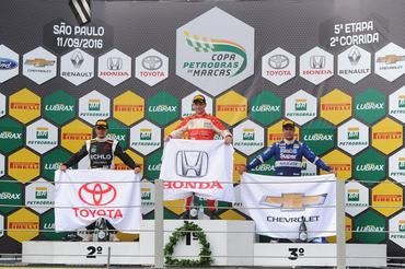 Copa Petrobras de Marcas: Orige vence com a Honda e se aproxima da liderança