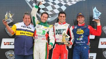 Copa Chevrolet Montana: Após marcar a pole position, Tiago Geronimi ganha sua primeira prova