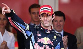 F1: Mark Webber vence em Mônaco e assume liderança do campeonato