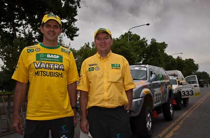 Rally Dakar: Projeto brasileiro desperta interesse de público e competidores