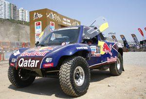 Rally Dakar: Nasser Al-Attiyah vence a sexta etapa