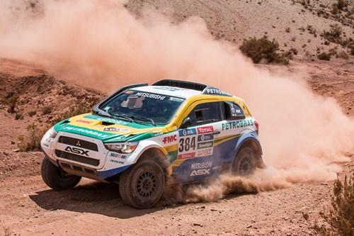 Rally Dakar: Equipe Mitsubishi Petrobras enfrenta dunas e calor de quase 50ºC no nono dia de Rally D