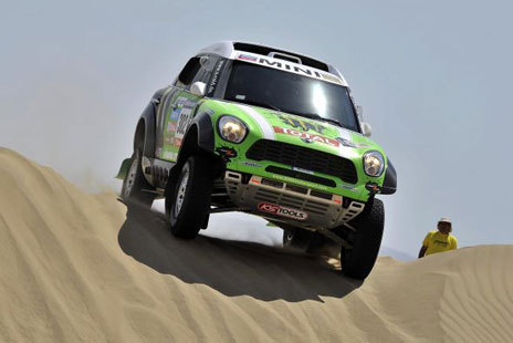 Rally Dakar: Stéphane Peterhansel vence sétima etapa