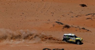 Rally Dakar: Peterhansel reage na hora certa e assume liderança a uma etapa do fim