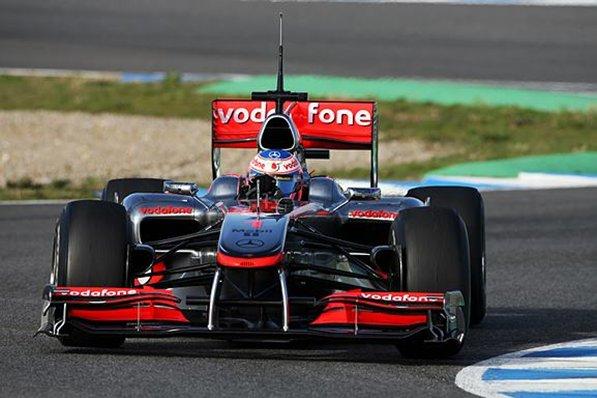 F1: Jenson Button é o mais rápido da semana em Jerez