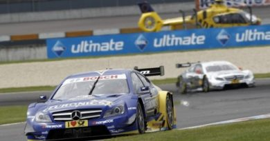 DTM: Gary Paffett vence em Lausitzring