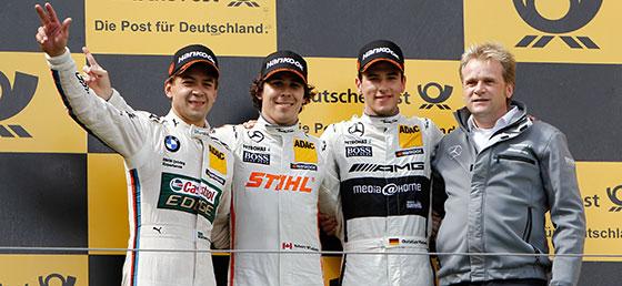DTM: Robert Wickens vence em Nürburgring. Augusto Farfus é segundo
