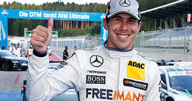 DTM: Robert Wickens marca a pole no Red Bull Ring