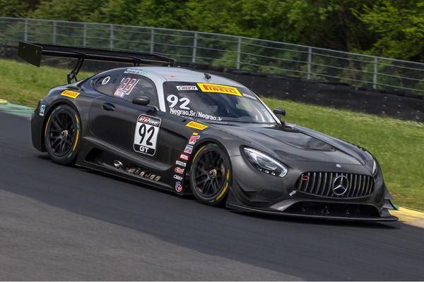 Endurance Brasil: Família Negrão retorna as pistas a bordo da Mercedes AMG GT3
