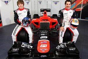F1: Marussia finalmente leva seu novo carro à pista