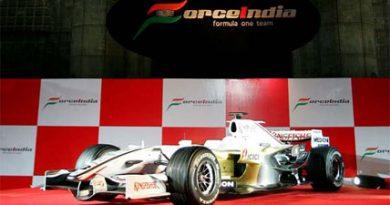 F1: Force India apresenta carro de estréia