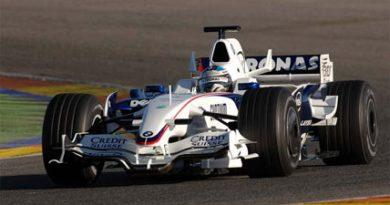 F1: Sem mau tempo, BMW Sauber completa testes em Valência