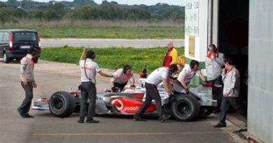 F1: McLaren testa com Kovalainen em ilha espanhola