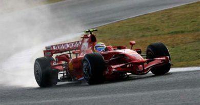 F1: Ferrari domina treinos em Jerez