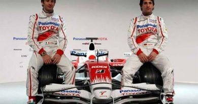 F1: Decepção em 2007, Toyota lança novo carro