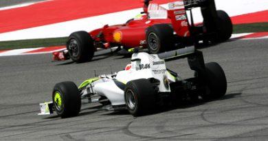 F1: Rubens está feliz com a terceira colocação no GP da Espanha