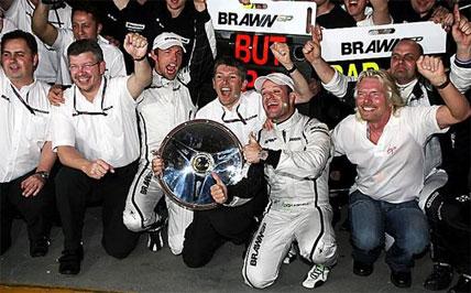 F1: Brawn GP faz história na Austrália