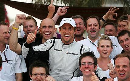 F1: Jenson Button vence a terceira no ano