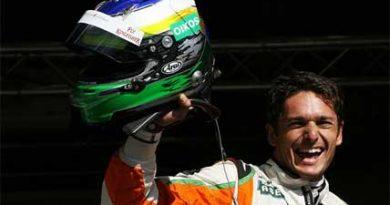 F1: Fisichella surpreende e marca a pole em Spa