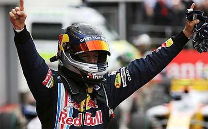 F1: Sebastian Vettel domina GP da Inglaterra