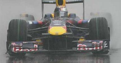 F1: Vettel não passa da Q1 no chuvoso Interlagos